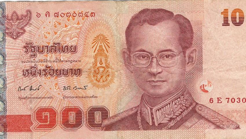 100 Baht bill