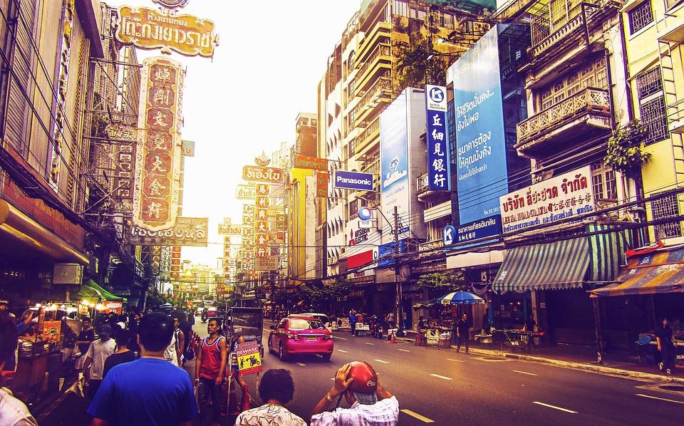 Street in Chinatown, Bangkok