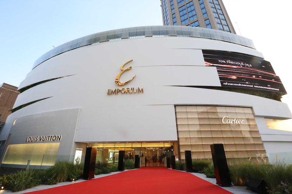 Emporium luxury shopping mall in Bangkok