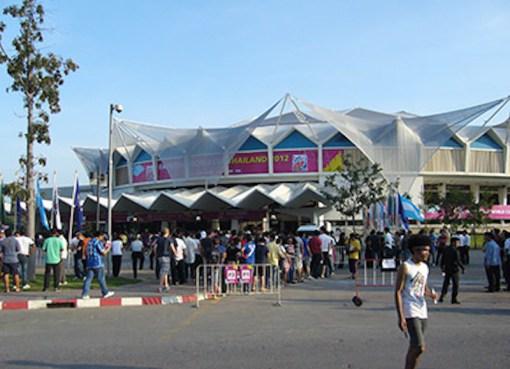 Indoor Stadium in Huamark