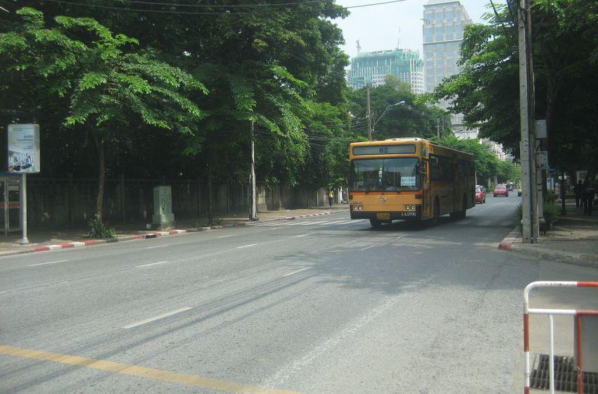 Wireless Road in Bangkok