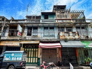 Old buildings in Bangkok