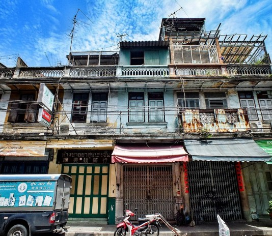 Old buildings in Bangkok