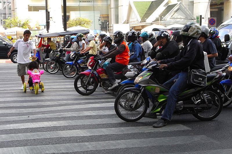 Motorcycles in Bangkok