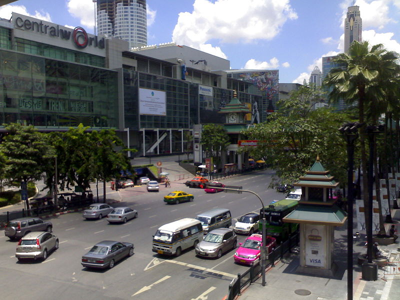 CentralWorld in Bangkok