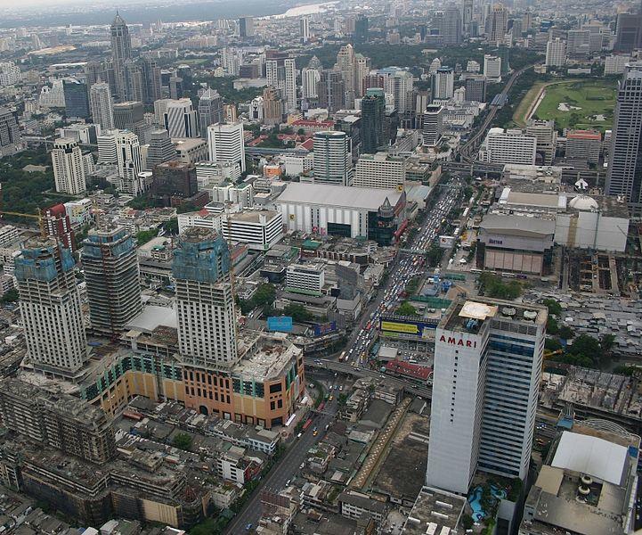 View of Bangkok from Baiyoke Tower II