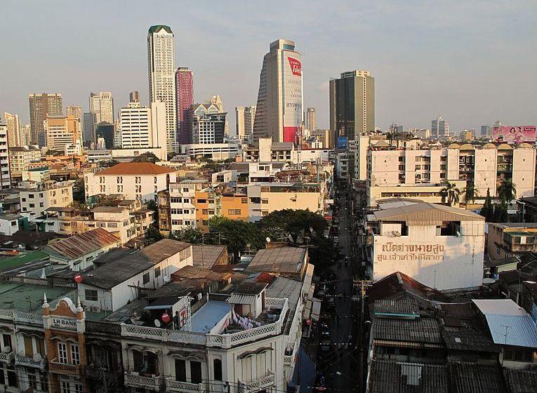 Bangkok, the capital of Thailand