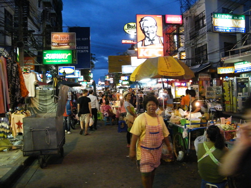 Khaosan Road at night