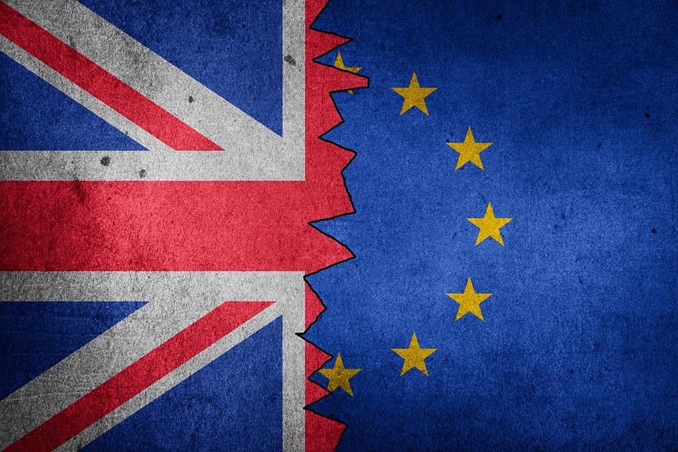 Brexit flag (UK & EU flags)