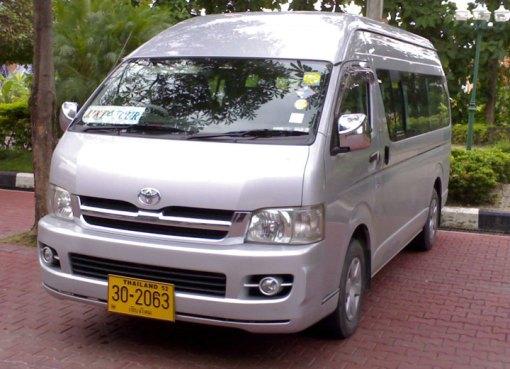Chiang Mai- Pai minivan