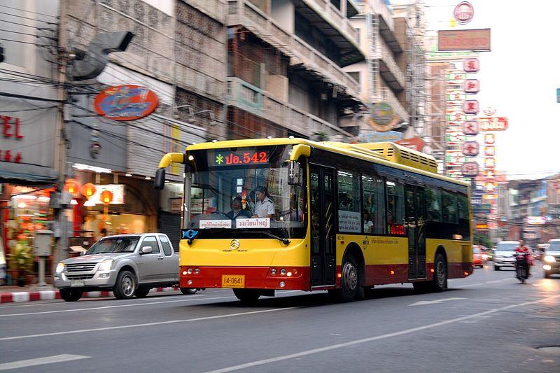 Chinese bus in Bangkok