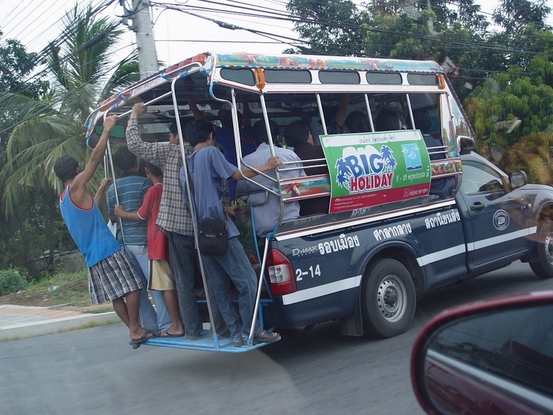Baht bus in Thailand