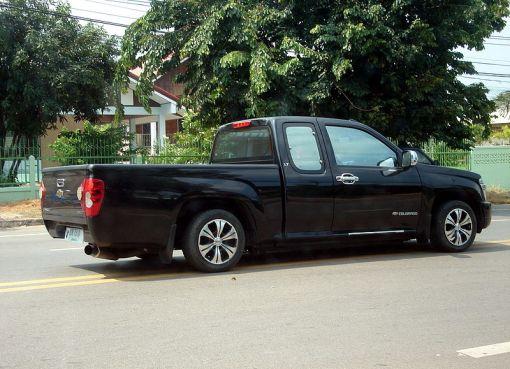 Chevrolet Colorado in Thailand