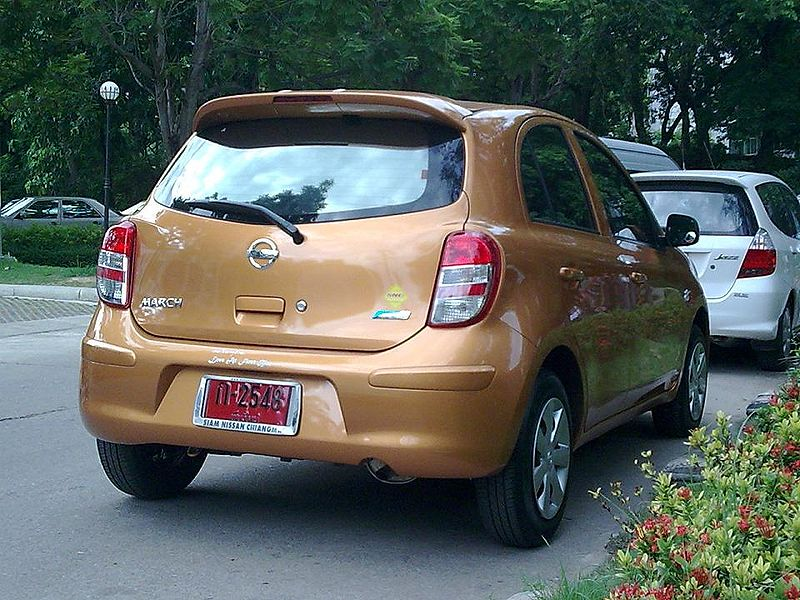 Nissan March K13 in Chiang Mai