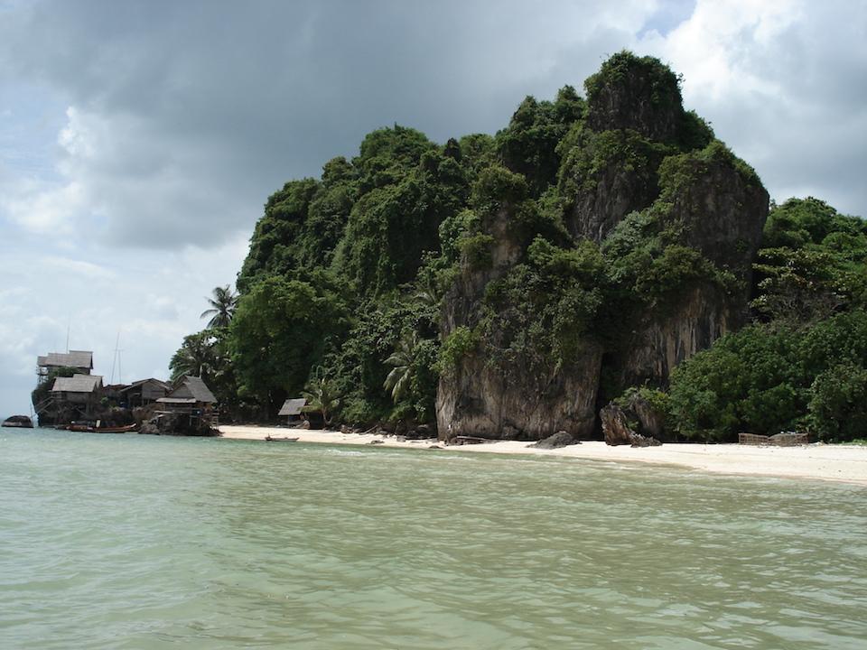 Beach in Koh Maprao, Chumphon