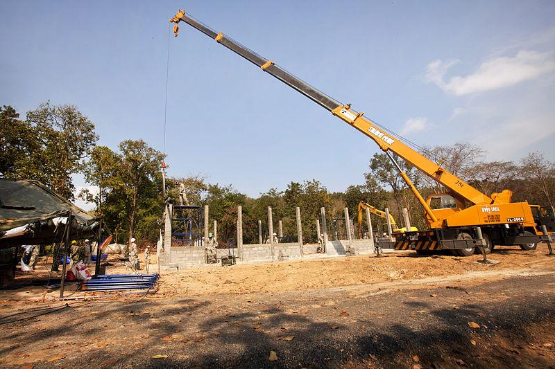 Fatal construction crane collapse in Phuket