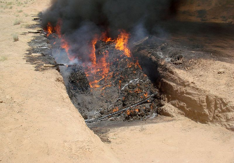 Authorities Burn 13 Tonnes of Seized Marijuana