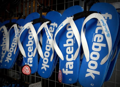 Facebook flip flops