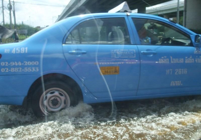 Floods in Lat Krabang, Bangkok