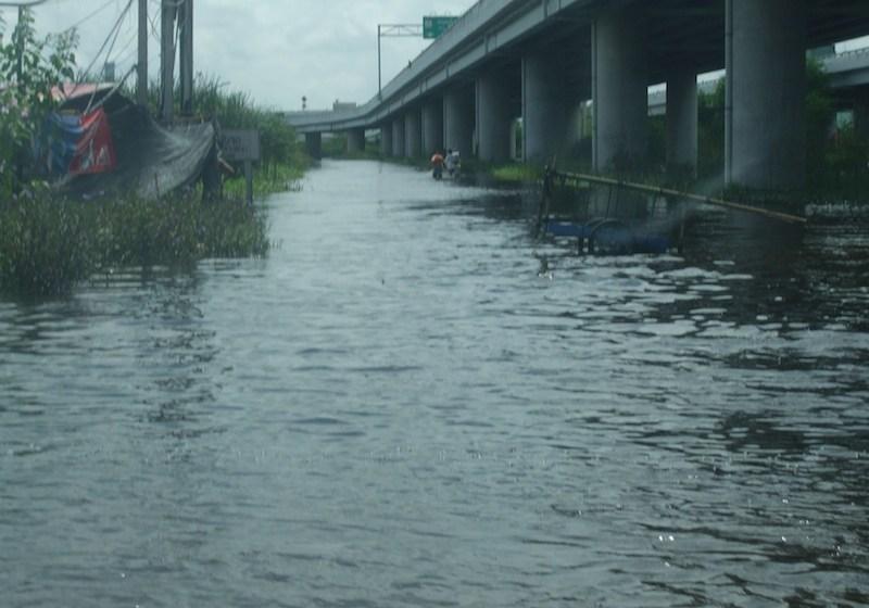 Floods in Lat Krabang District, Bangkok