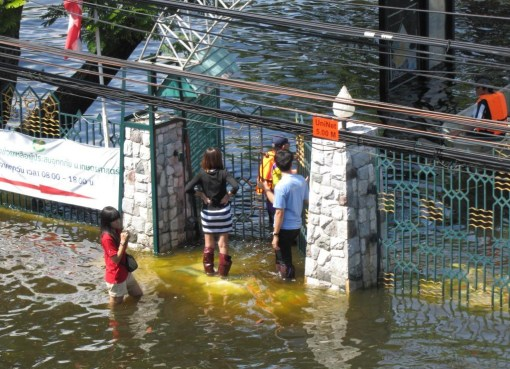 Thailand floods in November 2011