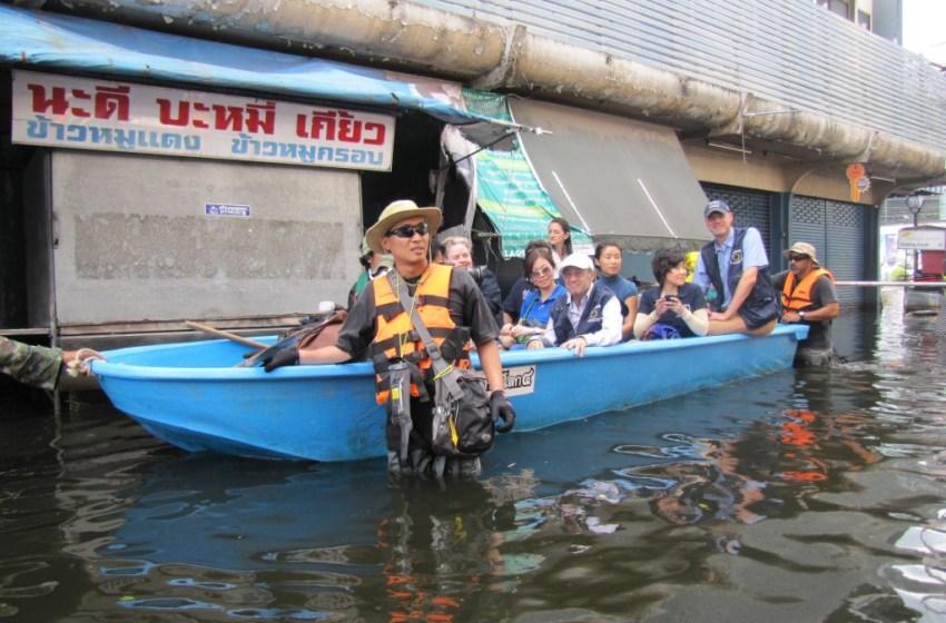 BMA evacuating Bangkok's Bang Khen, other areas