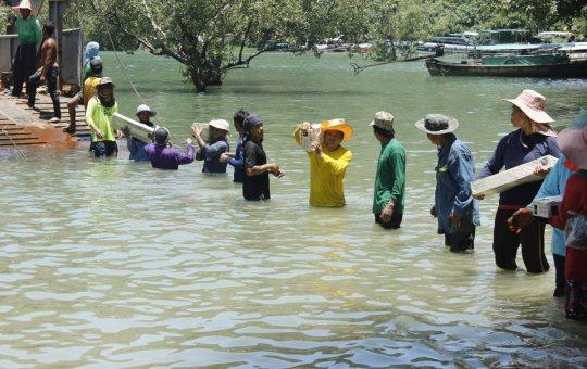 Flood relief in Thailand