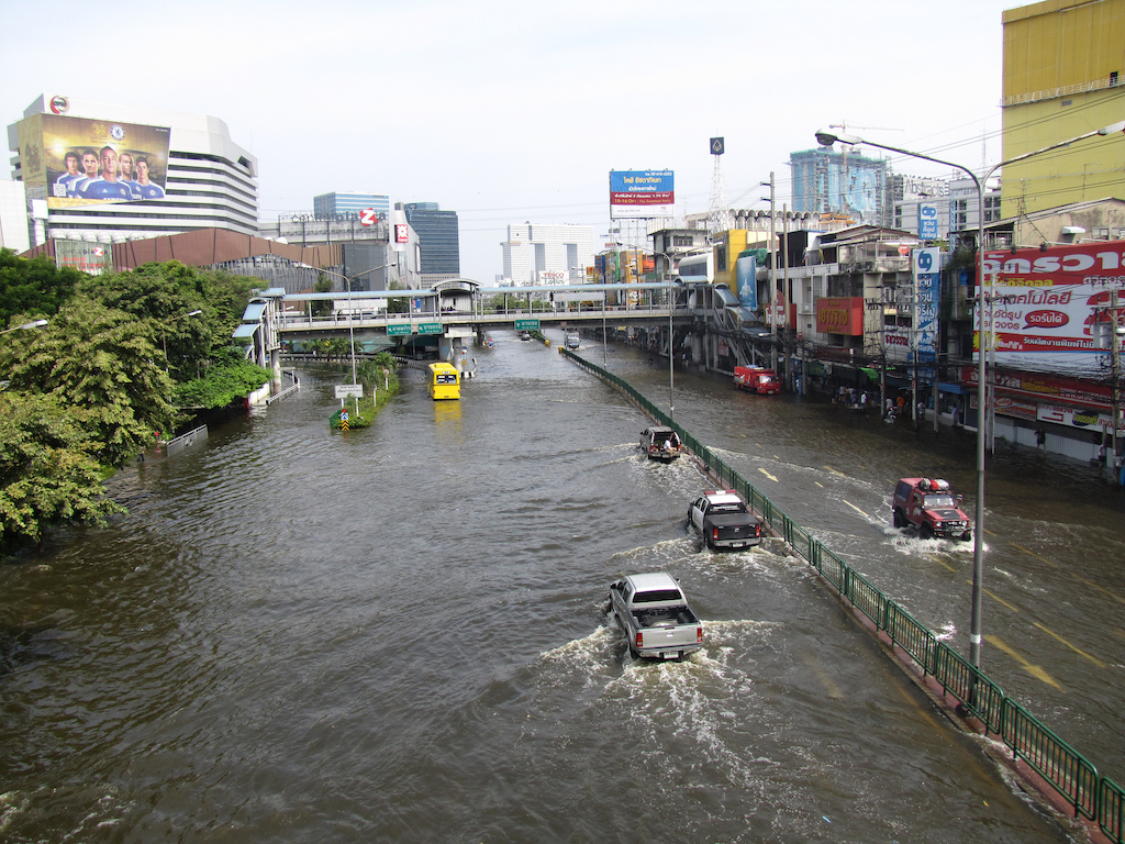 Heavy Rain Causes Flooding in North, Northeast