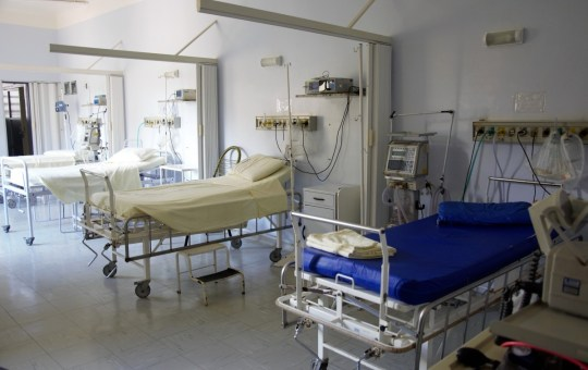 Hospital bed in Thailand