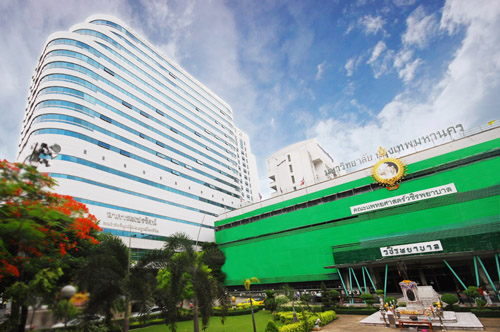 Hospital in Bangkok, Thailand