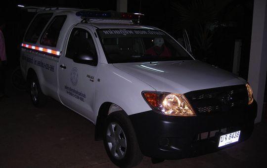 Toyota HiLux D4D ambulance