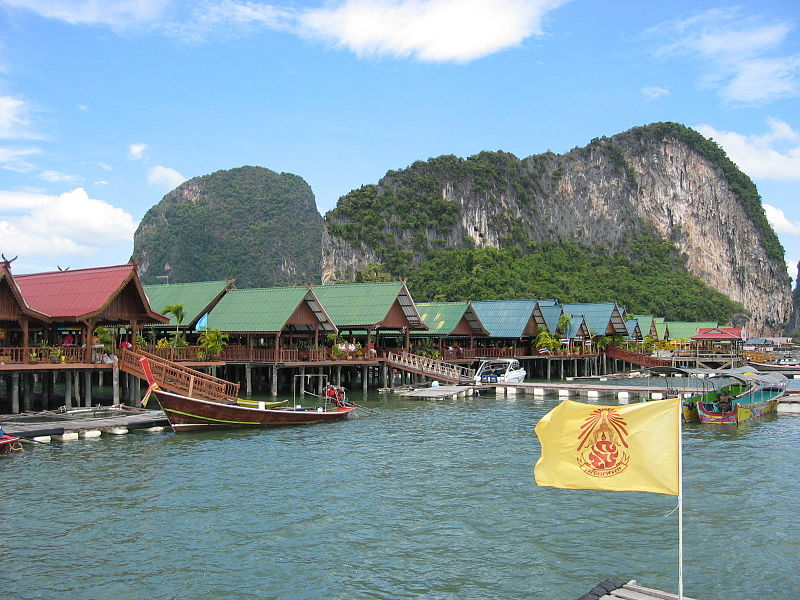 Koh Panyi fishing village in Phang Nga Province