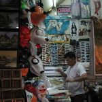 Seller at Chatuchak Market in Bangkok