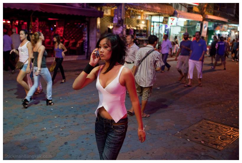 Thai Girl on the phone