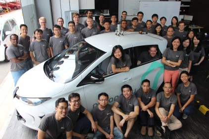 nuTonomy self-driving car team