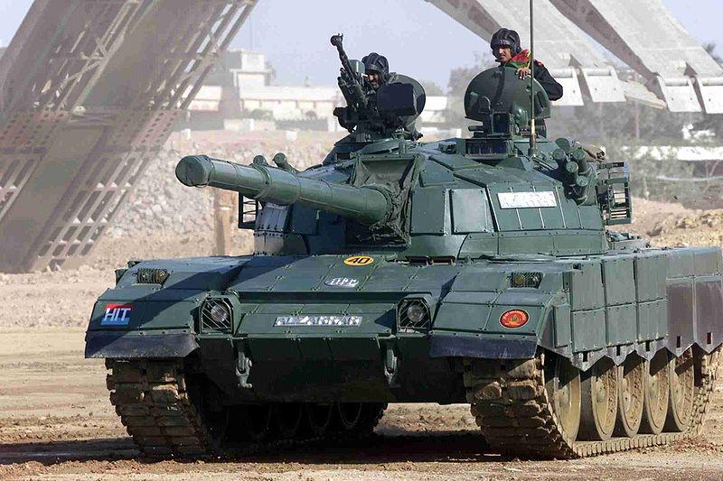 The backbone of the Pakistani army: the Al-Zarrar tanks
