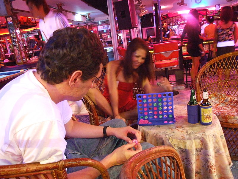 Beer bar in Pattaya