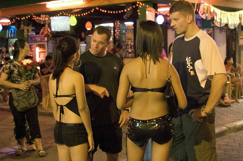Bar girls in Pattaya, Thailand