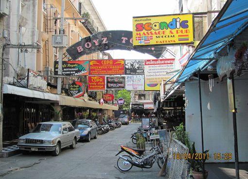 Boyz Town in Pattaya