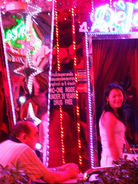 Public Oral Sex Offender Is Regular Pattaya Bar Patron