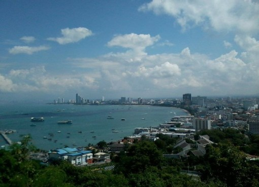 View of Pattaya Bay