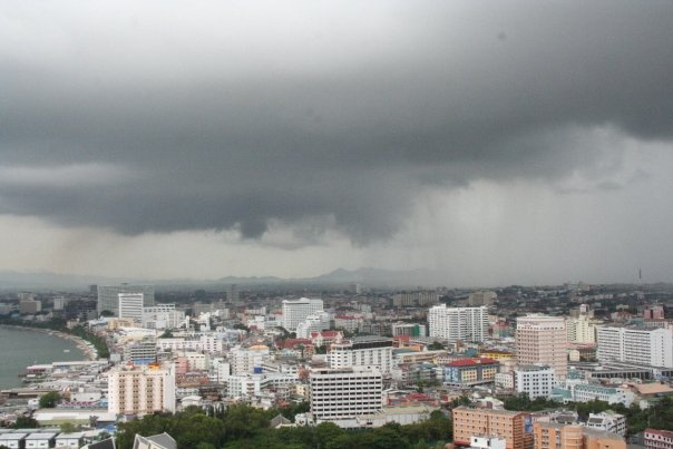 Clouds over Pattaya