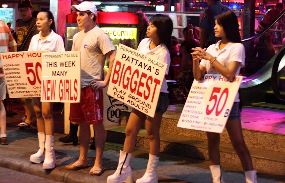 Happy Hour at Pattaya Walking Street