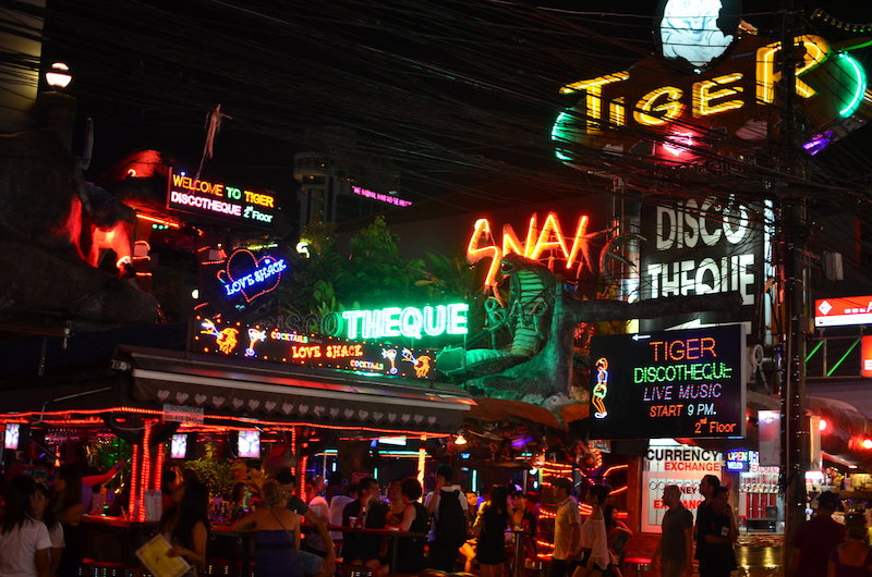 Bars in Patong, Phuket