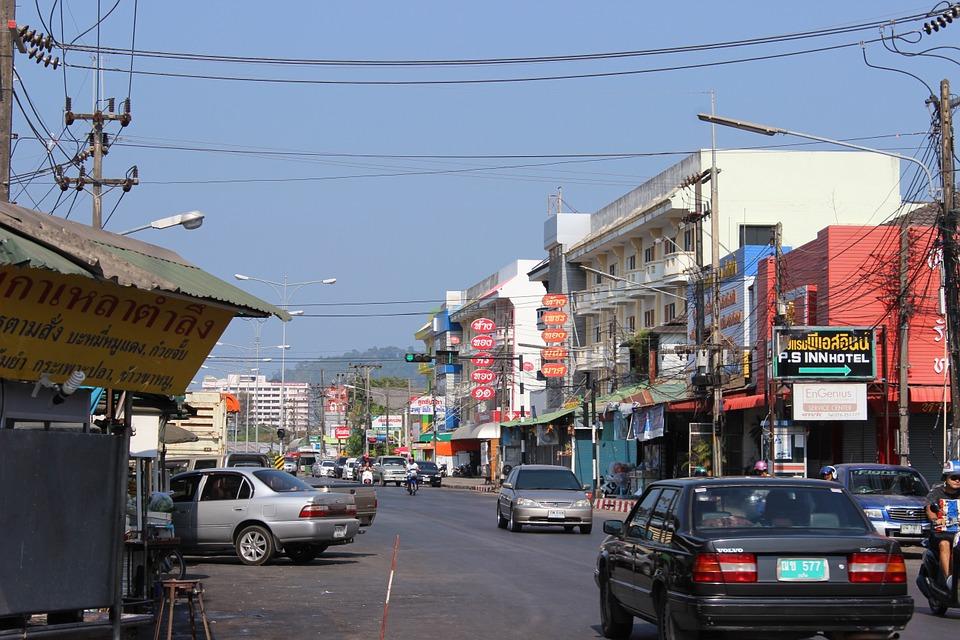 Street in Phuket town