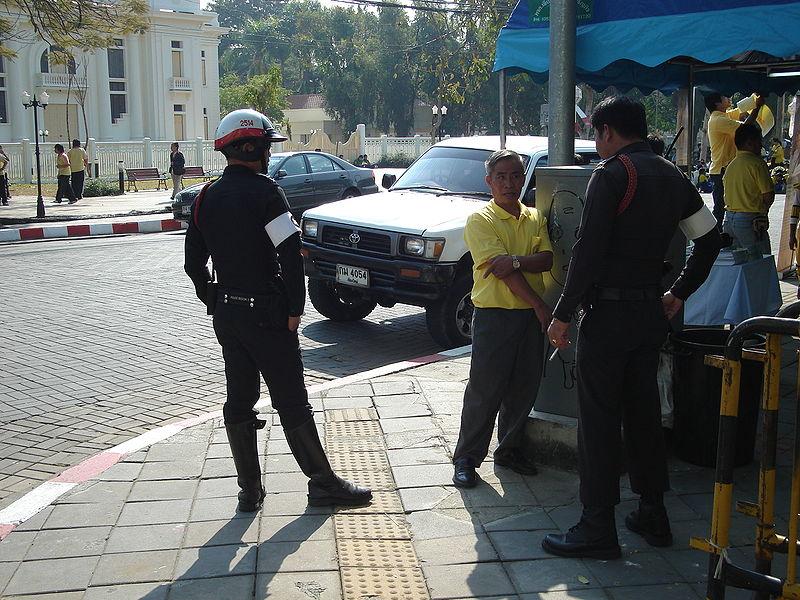Thai police officer