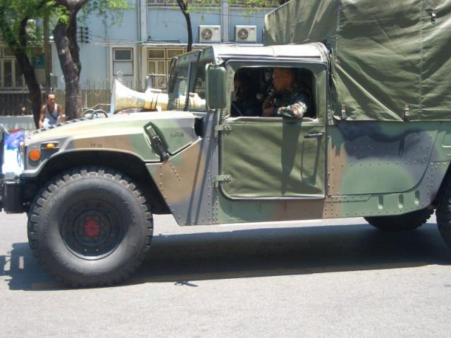 Thai military vehicle