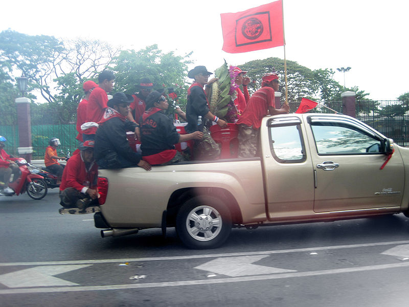 Demonstration of the Red Shirts in Bangkok