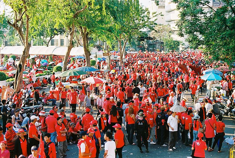 Red Shirts in BAngkok