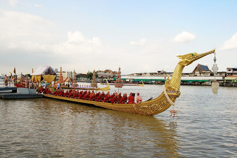 Royal barge in Thailand